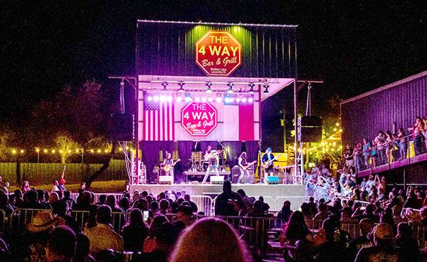 Music lineup, new stage drawing crowds