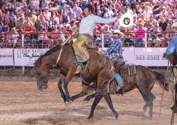 Bandera ProRodeo events draw record Labor Day crowds