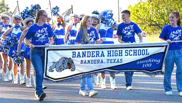 Homecoming week kicked off with a pep rally and parade and culminated in a bonfire. All BISD schools will have themed days leading up to Friday night's football game at Bulldog Stadium. BULLETIN PHOTOS/Tracy Thayer