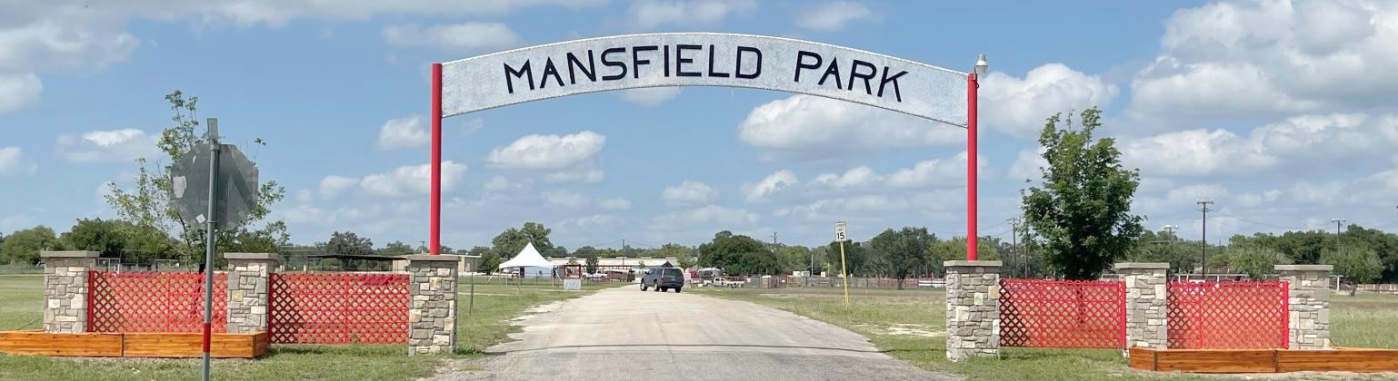 Mansfield entrance gets facelift