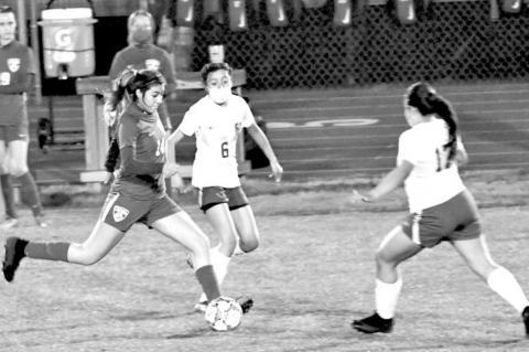 Soccer: Girls beat Cole