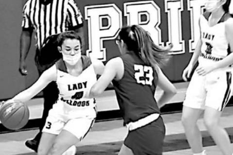 Lady Bulldogs win at home