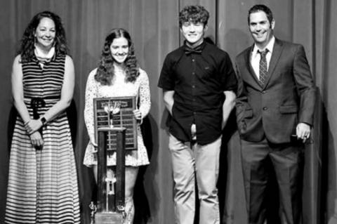 Banquet honors high school athletes