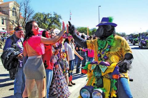 COVID-19 vaccines administered during Cowboy Mardi Gras