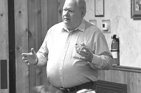 Sheriff Butts addresses Bandera Republicans