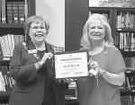 Ashby recognized for volunteer service