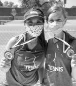 TENNIS ATHLETES EARN SILVER MEDALS